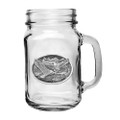 Eagle Mason Jar Set of 2 | Heritage Pewter | HPIMJM109