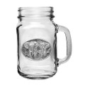 Elephant Mason Jar Set of 2 | Heritage Pewter | HPIMJM120