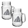Gorilla Mason Jar Mug Set of 2 | Heritage Pewter | HPIMJM3998