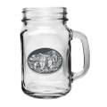 Grizzly Bear Mason Jar Set of 2 | Heritage Pewter | HPIMJM105