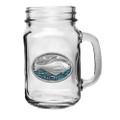Halibut Fish Mason Jar Set of 2 | Heritage Pewter | HPIMJM4269EB