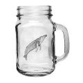 Humpback Whale Mason Jar Set of 2 | Heritage Pewter | HPIMJM3380
