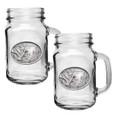 Mallard Duck Mason Jar Mug Set of 2 | Heritage Pewter | HPIMJM122