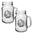 Manatee Mason Jar Mug Set of 2 | Heritage Pewter | HPIMJM4110