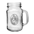 Mermaid Mason Jar Set of 2 | Heritage Pewter | HPIMJM4272