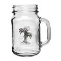 Palm Tree Mason Jar Mug Set of 2 | Heritage Pewter | HPIMJM4216