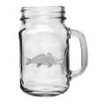 Red Fish Mason Jar Set of 2 | Heritage Pewter | HPIMJM4237