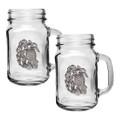 Sea Turtle Mason Jar Mug Set of 2 | Heritage Pewter | HPIMJM4146