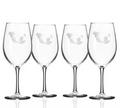 Mermaid 18 oz Wine Glass Set of 4   Rolf Glass   268262