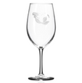 Mermaid 18 oz Wine Glass Set of 4 | Rolf Glass | 268262