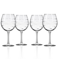 Fish Balloon Wine Glass Set of 4 | Rolf Glass | 600178