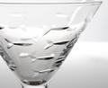Fish Martini Glass Set of 4 | Rolf Glass | 600130