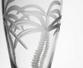 Palm Tree Pilsner Glass Set of 4  | Rolf Glass | 203461
