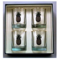 Pineapple Double Old Fashioned Glass Set | Richard Bishop | 2026PIN