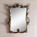 Faux-Antler Wall Mirror | 34668 | SPI Home -2