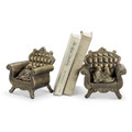 "Bird Pair Jewelry Box Bookends ""Together Forever"" 