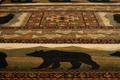 Black Bears Area Rug   United Weavers   UW750-01943
