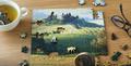Hydrangea Artisanal Wooden Jigsaw Puzzle | Zen Art & Design | ZADHYDRANGEA