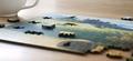 Poplars at Sunrise Artisanal Wooden Jigsaw Puzzle   Zen Art & Design   ZADPOPLARSAS