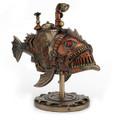 Steampunk Submarine Fish Sculpture | Unicorn Studios | WU76795A4 -2