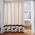 Deer Wyatt Shower Curtain | VHC Brands | 34328