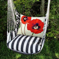 "Poppies Hammock Chair Swing ""True Black"" | Magnolia Casual | TBRRPG-SP"