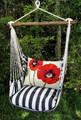 "Poppies Hammock Chair Swing ""True Black"" | Magnolia Casual | TBRRPG-SP -2"