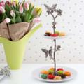 Butterfly Dessert Stand | Vagabond House | G328BF -3