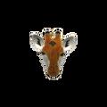 Giraffe Face Pin | Bamboo Jewelry | BJ0214p -2