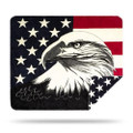 Eagle Micro Plush Throw Blanket   Denali   16154172 -2