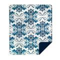 Mermaid and Anchor Micro Plush Throw Blanket | Denali | 16113472 -2