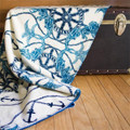 Mermaid and Anchor Micro Plush Throw Blanket | Denali | 16113472 -3