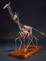 """Giraffe Scrap Metal Sculpture """"Serengeti Shuffle""""   Frank Cole Art   FCSSS"""