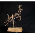 Deer Found Metal Sculpture | Goodbye | Frank Cole | FCSG