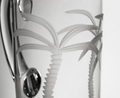 Palm Tree Engraved Glass Pitcher | Rolf Glass | 203713