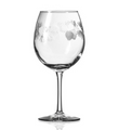 Icy Pine Balloon Wine Glass Set of 4   Rolf Glass   207179
