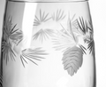 Icy Pine Stemless Wine Glass Set of 4   Rolf Glass   207339