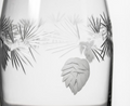 Icy Pine Engrave Glass Carafe | Rolf Glass | 207797