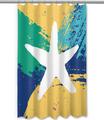 Bimini Starfish Shower Curtain | Island Girl Home | SC153