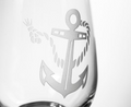 Rope and Anchor White Wine Glass Set of 4 | Rolf Glass | 232423
