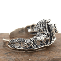 Animal Kingdom Sterling Silver Cuff Bracelet | Kabana | BR199 -3