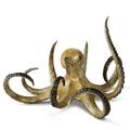 Octopus Brass Sculpture | Hunting Octopus Sculpture | SPI Home | 80361