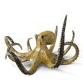 Octopus Brass Sculpture | Hunting Octopus Sculpture | SPI Home | 80361 -2