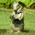 Rabbit Garden Sculpture | Sharing a Story | SPI Home | 34773