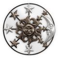 Sun Moon and Stars Wall Art   SPI Home   34754 -2
