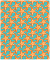 Starfish in Waves Fleece Throw Blanket | Island Girl Home | THR04 -2