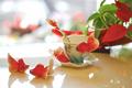 Goldfish Porcelain Cup Saucer Spoon Set | FZ00426 | Franz Collection