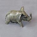 Elephant Bronze Baby Sculpture | Barry Stein | BBSSMALLELEBABY1-2