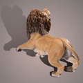 Lion Bronze Sculpture | Barry Stein | BBSTHELION-2