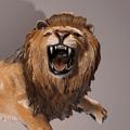 Lion Bronze Sculpture | Barry Stein | BBSTHELION-3
